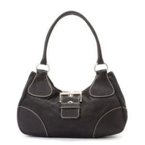 Authentic Prada black nylon & leather bag
